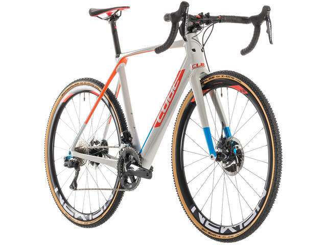 Cube Cross Race C:62 SLT Cyclocross grå/farverig (2019) | Cross-cykler